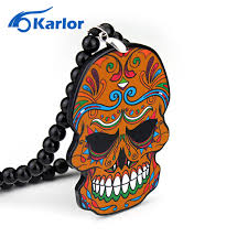 suger skull new car auto fashion pendant jdm interior rear view