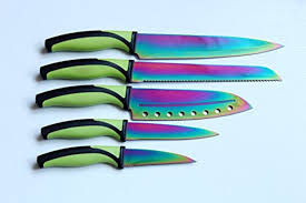 rainbow colored pocket knife box k brand of knives to rainbow