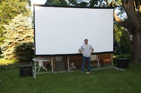 Backyard Projector Backyard Movie Projector And Screen Home Outdoor Decoration