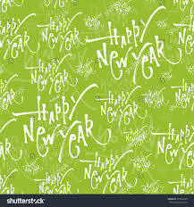 new year wrapping paper wrapping paper seamless pattern calligraphic stock vector