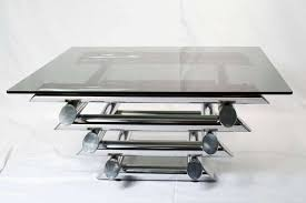 Glass And Chrome Coffee Table 20 Ideas Of Rectangle Glass Chrome Coffee Tables