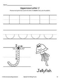 uppercase letter d pre writing practice worksheet writing