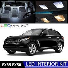 infiniti fx50 2016 amazon com ledpartsnow 2009 2014 infiniti fx35 fx50 led interior