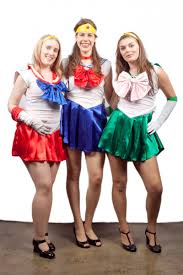 sailor moon girls creative costumes