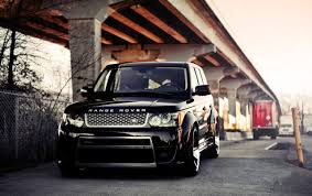 range rover car black black tuned land rover range rover vogue wallpapers black tuned