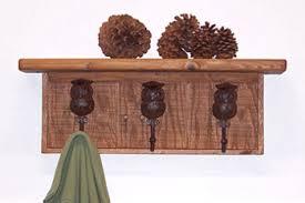 alpine craft works owl coat racks