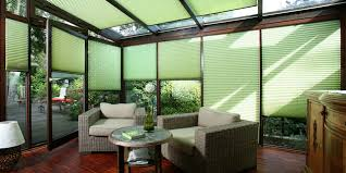 Blinds Sacramento Pleated Blinds Made In Germany Contemporary Sunroom