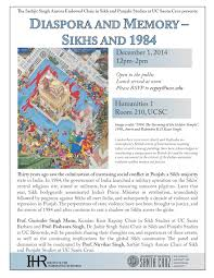 Ucsc Map Diaspora And Memory U2014 Sikhs And 1984 U2013 Institute For Humanities