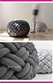 knitted pouf ottoman target comfort floor pouf for any modern decor wooden stools target pouf