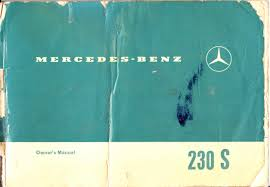 mercedes benz 230 s owners manual u2022 lerwill automobilia u2022 tictail