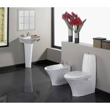 Pedestal Sink Bathroom Design Ideas Bathroom Ethnic Round Shape Padestal Sink Bathroom Design With