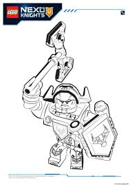 lego nexo knights axl 1 coloring pages printable