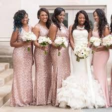 african american weddings brown bride and bridesmaids