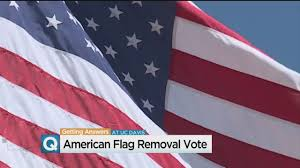 How Many Stars And Stripes Are On The Us Flag Uc Davis Student Senate Votes To Make American Flag Optional At
