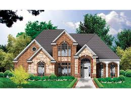 european style homes eplans country house plan richly appointed new american
