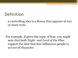 controlling definition review essay practice