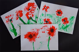remembrance day poppy field craft for kids my baba parenting blog