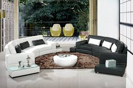 Modern Sofa Set Designs For Living Room 525 Modern White Leather Sectional Sofa