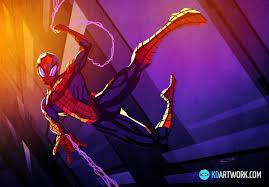 download marvelous movember spiderman free kd artwork