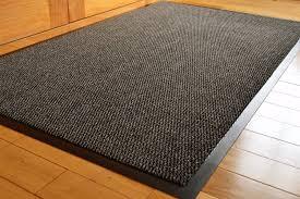 Outdoor Mats Rugs by Barrier Mat Large Grey Black Door Mat Rubber Backed Medium Runner