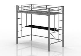 amazon com premium twin loft bunk bed with desk tiny house