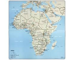 map with names of countries in africa maps of africa and countries political maps road and