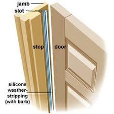 Exterior Door Seal Replacement How To Weather A Door Doors Learning And Household