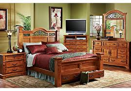 Pine Bed Set Rustic Pine Bedroom Furniture