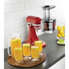 Kitchenaid Mixer Accessories by Kitchenaid Juicer U0026 Sauce Attachment Mixer Attachments Best