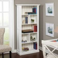 Bookcase With Doors White White Bookshelves Bookcases For Less Overstock