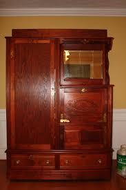 furniture contemporary storage design with antique chifferobe for