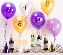 fun new year u0027s eve countdown activity pop a balloon at each hour