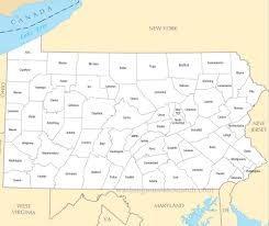 Armstrong Map A Large Detailed Pennsylvania State County Map