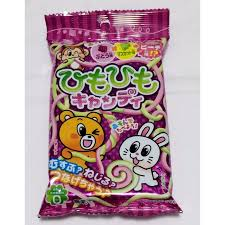 popin cookin himo himo candy grape flavour