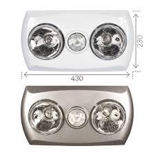 new brilliant lighting majestic 2 bathroom 3 in 1 heat light