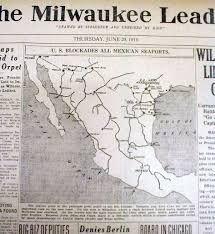 Us Mexico Border Map by 30 1916 Newspapers Pancho Villa Expedition Chases Bandit Mexico