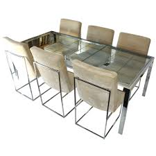 milo baughman dining table milo baughman dining table and chairs table designs