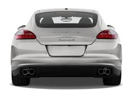 porsche sedan white this is what the new porsche panamera u0027s rear end looks like the