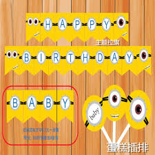 minion baby shower decorations popular baby minion baby shower decorations buy cheap baby minion