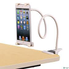 lazy bed bracket universal touch screen tablet device apple ipad long arm lazy bed bracket tablet holder white
