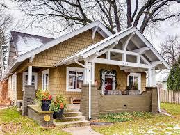 amazing craftsman bungalow in st paul mn beautiful wood work
