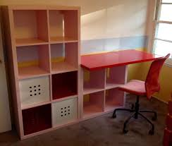 desks for kids rooms kallax kids desk ikea hackers