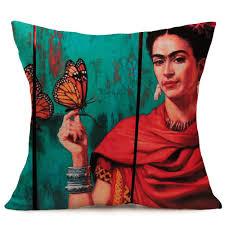 frida kahlo portrait pillow covers collection vl 1 u2013 yolo