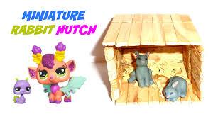 Rabbit Hutch Diy Diy Dollhouse Miniature Rabbit Hutch Youtube