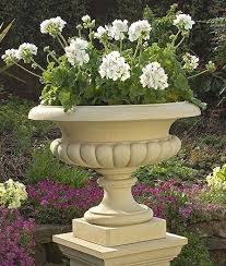 west lodge urn stone planter garden planters urn and planters