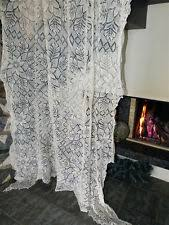 Antique Lace Curtains Antique Lace Curtains Ebay
