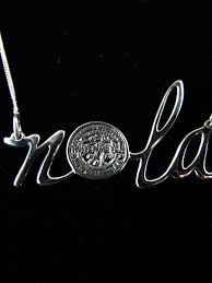 new orleans water meter necklace nola water meter necklace sterling