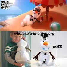 american movies character frozen olaf dolls girls cotton stuffed