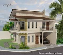 Two Story House Plans With Balconies 2 Story House With Balcony Plan House Plan