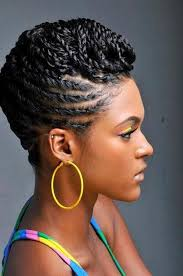 black hair styles to wear when your hair is growing out 116 best love your afro images on pinterest short haircuts hair